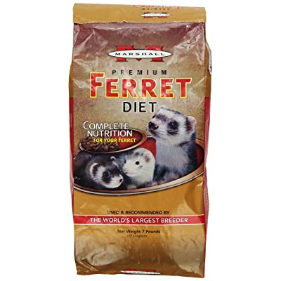 Marshall Premium Ferret Diet 7 Pound Bag