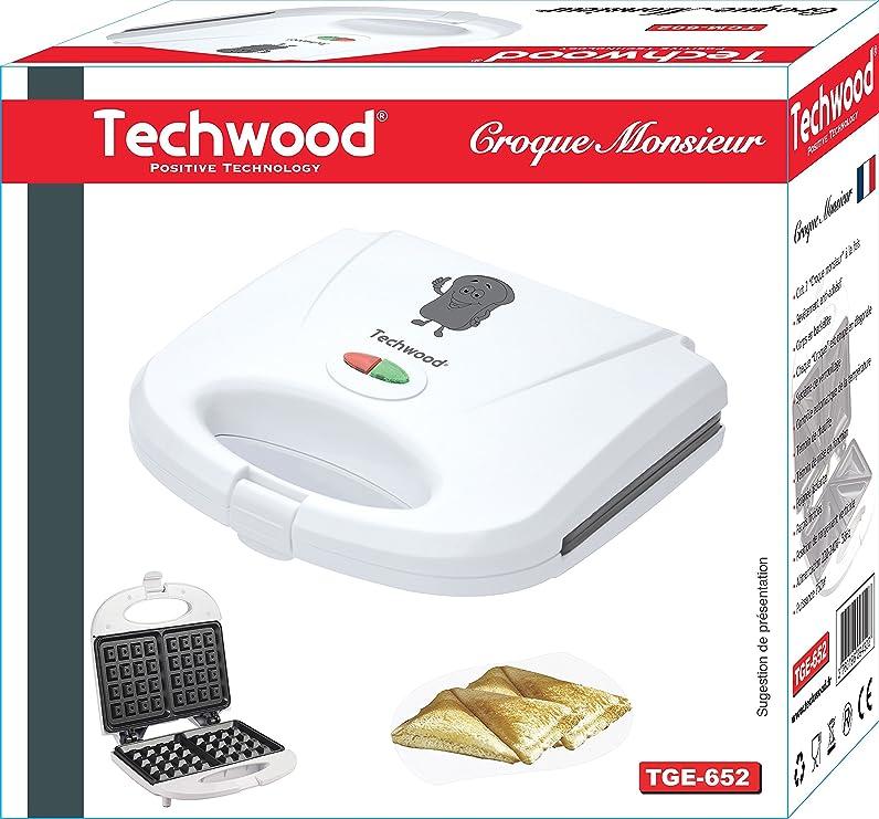 Techwood TGE-652 Gaufrier: Amazon.fr: Cuisine & Maison
