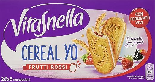 19 opinioni per Vitasnella Cereal Yo Frutti Rossi Gr.253