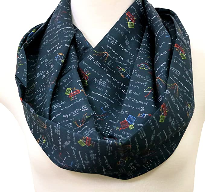 40 OFF Handmade Science Scarf Birthday Gift Idea For Her Anniversary Experiment Scientist