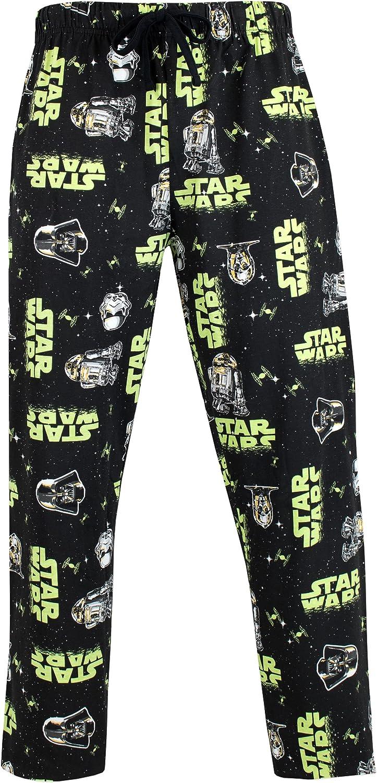 STAR WARS Pantaloni di Pigiama per Uomo Stormtrooper e Darth Vader