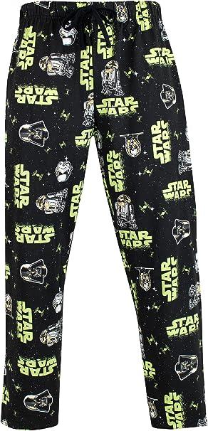 Star Wars Pantalones de Pijama para Hombre Stormtrooper y Darth Vader