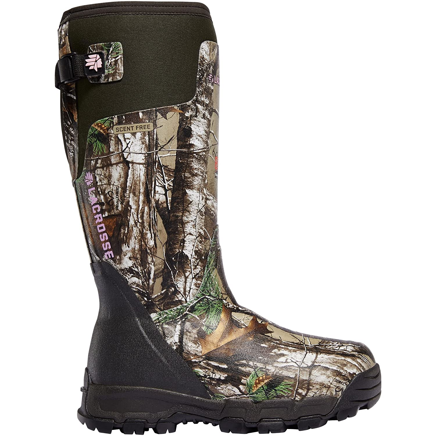 Lacrosse Women's Alphaburly Pro 15 Height Realtree Xtra 800G (376025) | Waterproof | Insulated Modern Comfortable Hunting Combat Boot Best for Mud, Snow Snow (8)