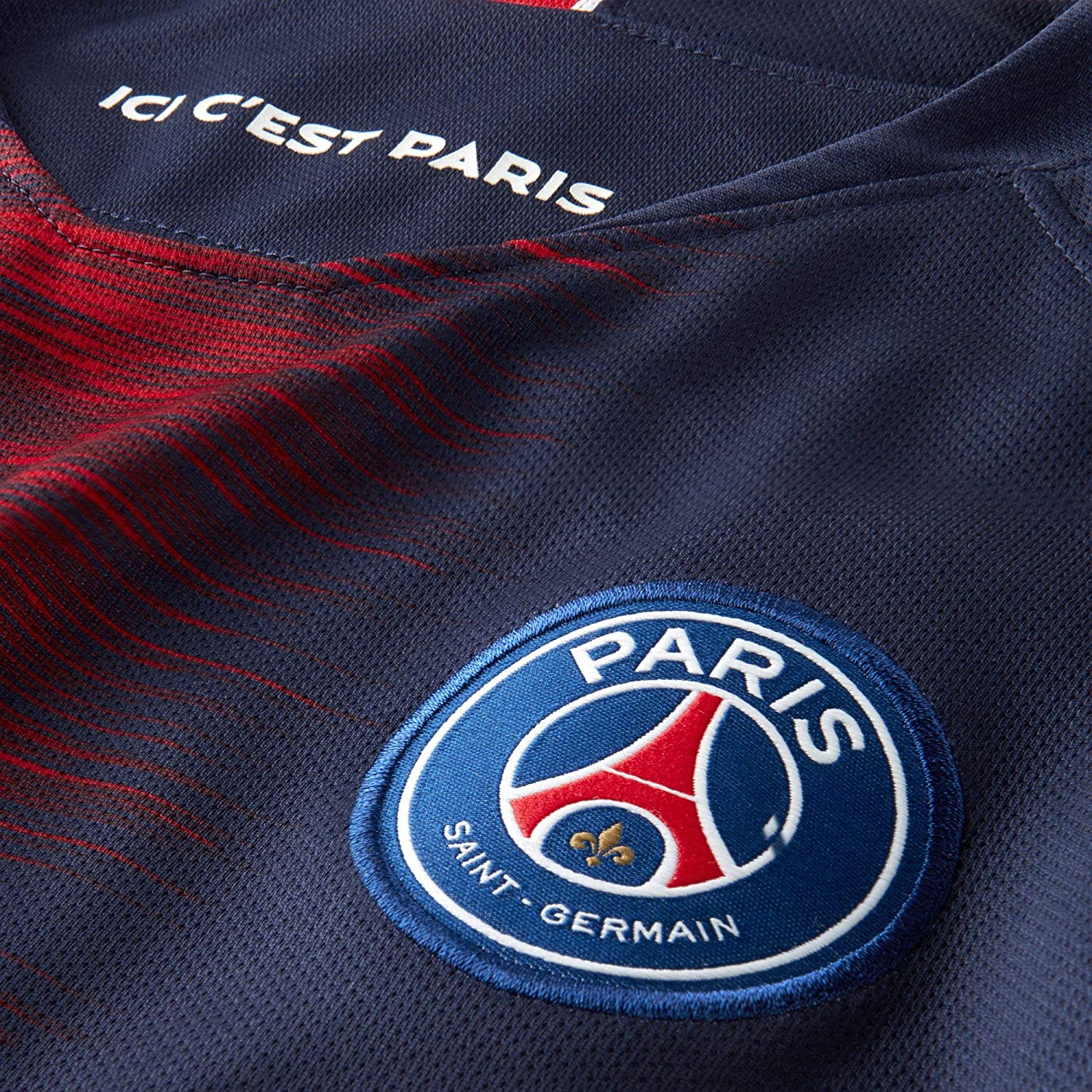 Amazon.com: Nike 2018 – 2019 PSG Home para mujer playera de ...