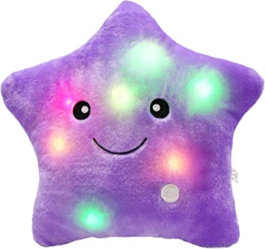 Amazon.com: Wewill Creative Twinkle Star Glowing Luz LED ...