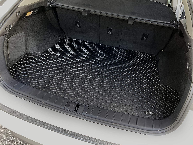 YelloPro Auto Custom fit Heavy Duty Car Floor Mat for 2016 2017 2018 2019 2020 Lexus RX RX350 RX350L RX450H RX450HL - Front /& 2nd Row Made in USA 3pcs All Weather Anti-Slip Black Rubber