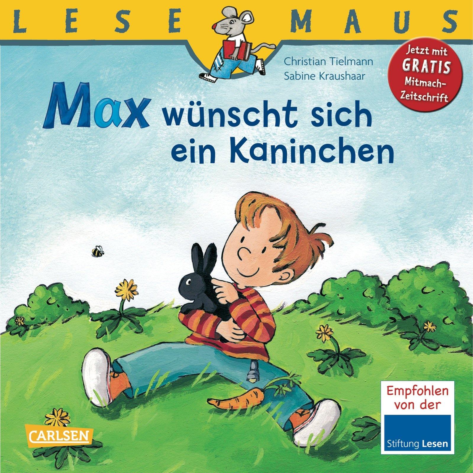 LESEMAUS, Band 43: Max wünscht sich ein Kaninchen