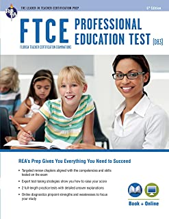 cliffsnotes ftce professional education test 3rd edition rh amazon com FTCE Exam Prep FTCE Practice Test
