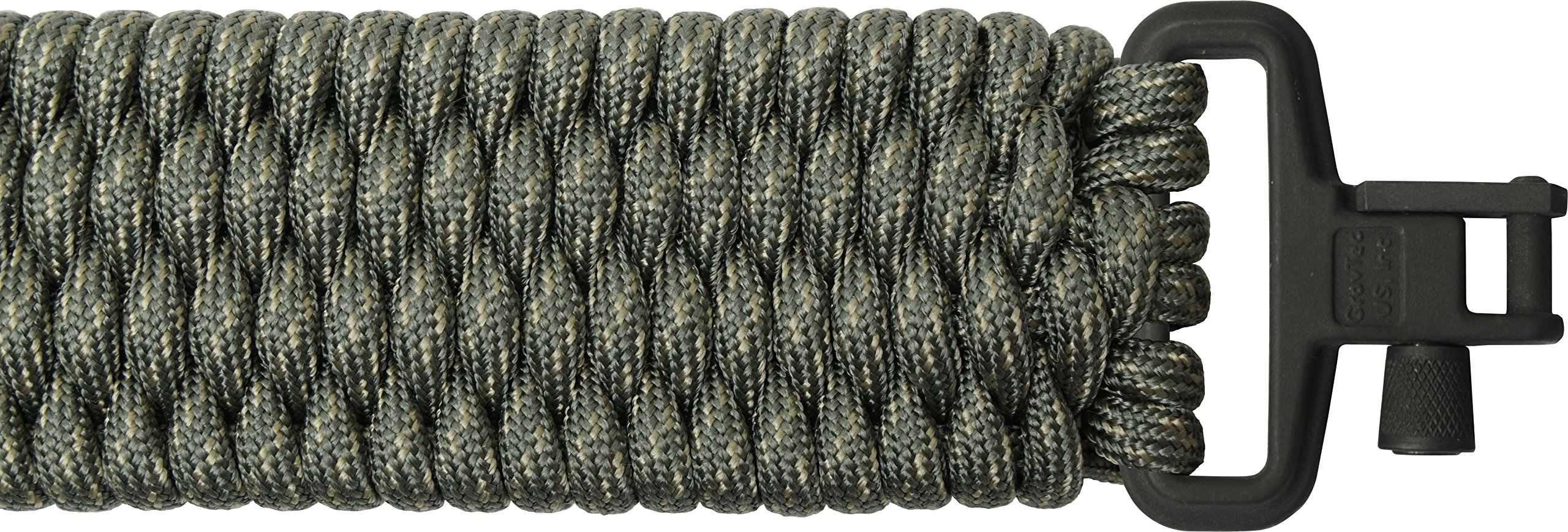 TOUGH-GRID Backbone(TM) Paracord Rifle Sling - Gun Sling/Rifle Sling - Handmade in The USA with Authentic Mil-Spec 750lb Type IV Paracord and Mil-Spec Swivels (BackBone70DGCBoa) by TOUGH-GRID (Image #1)