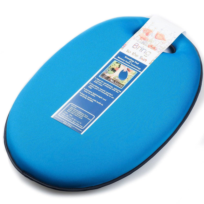 Kneeling pad with handles for gardening garden ftempo for Gardening kneeling pads