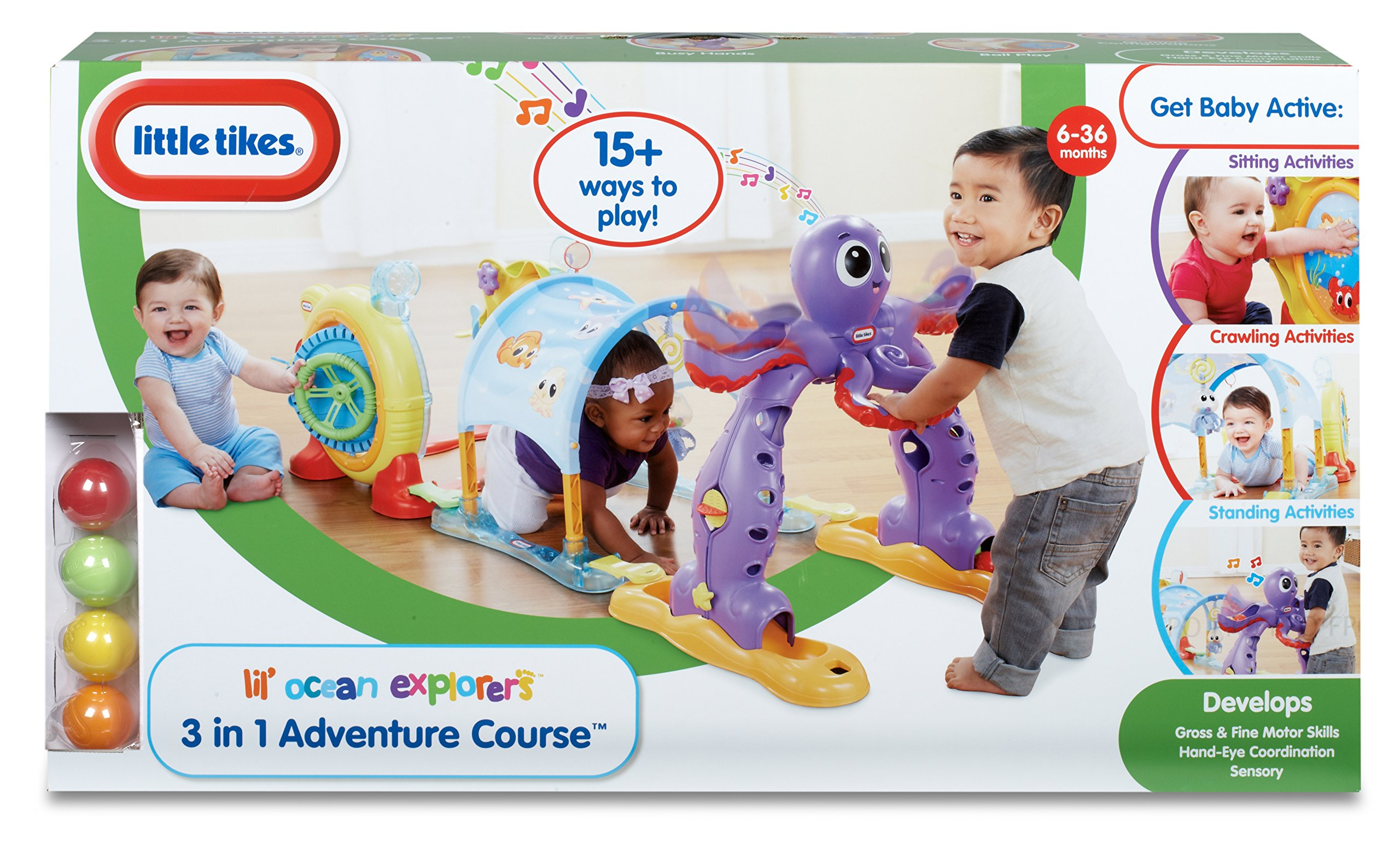 Little Tikes - Lil' Ocean Explorers  3-in-1  Adventure Course by Little Tikes (Image #8)