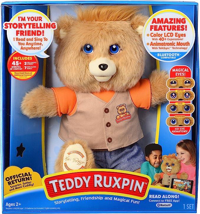 1985 Refurbished//battery free Teddy Ruxpin