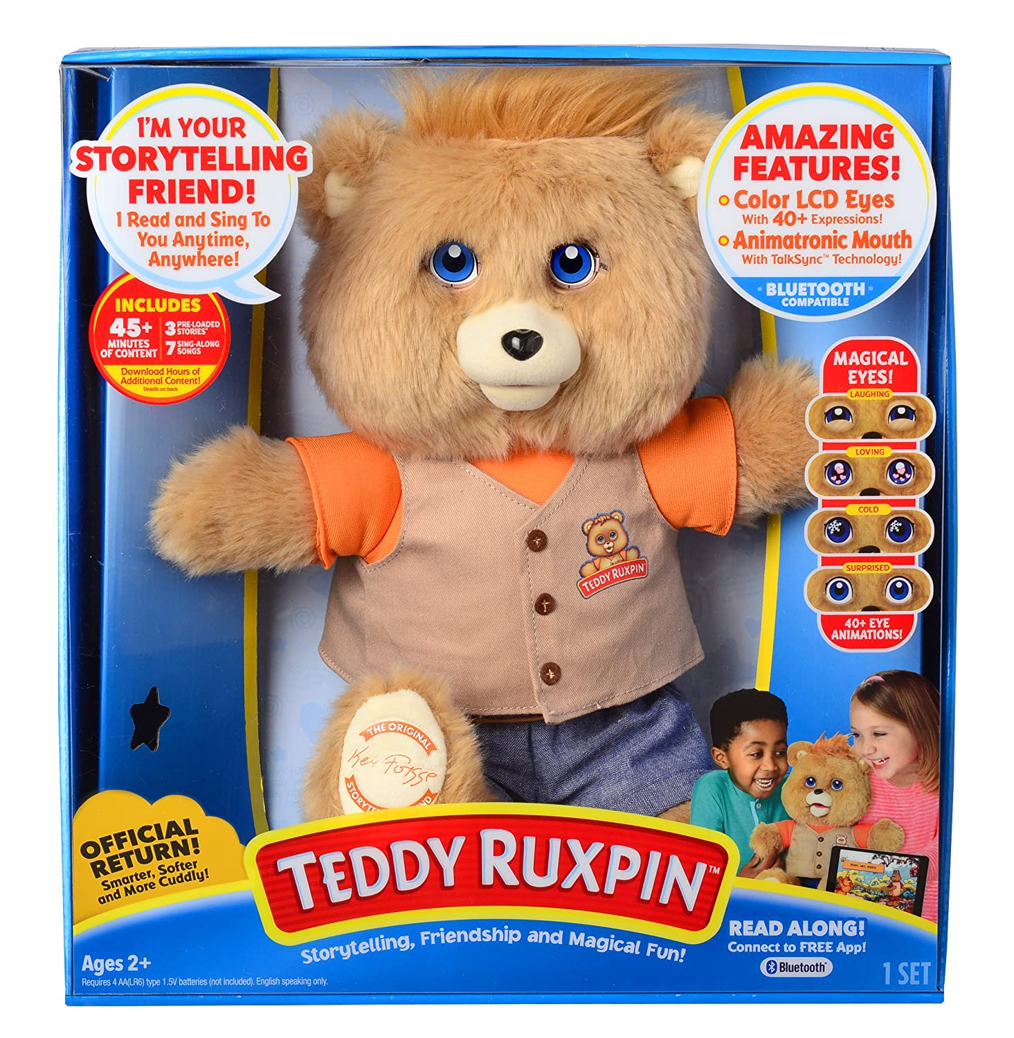 Teddy Ruxpin for 2017