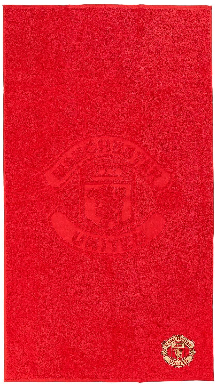 Manchester United FC officiel brod/ée /Écusson du club Serviette