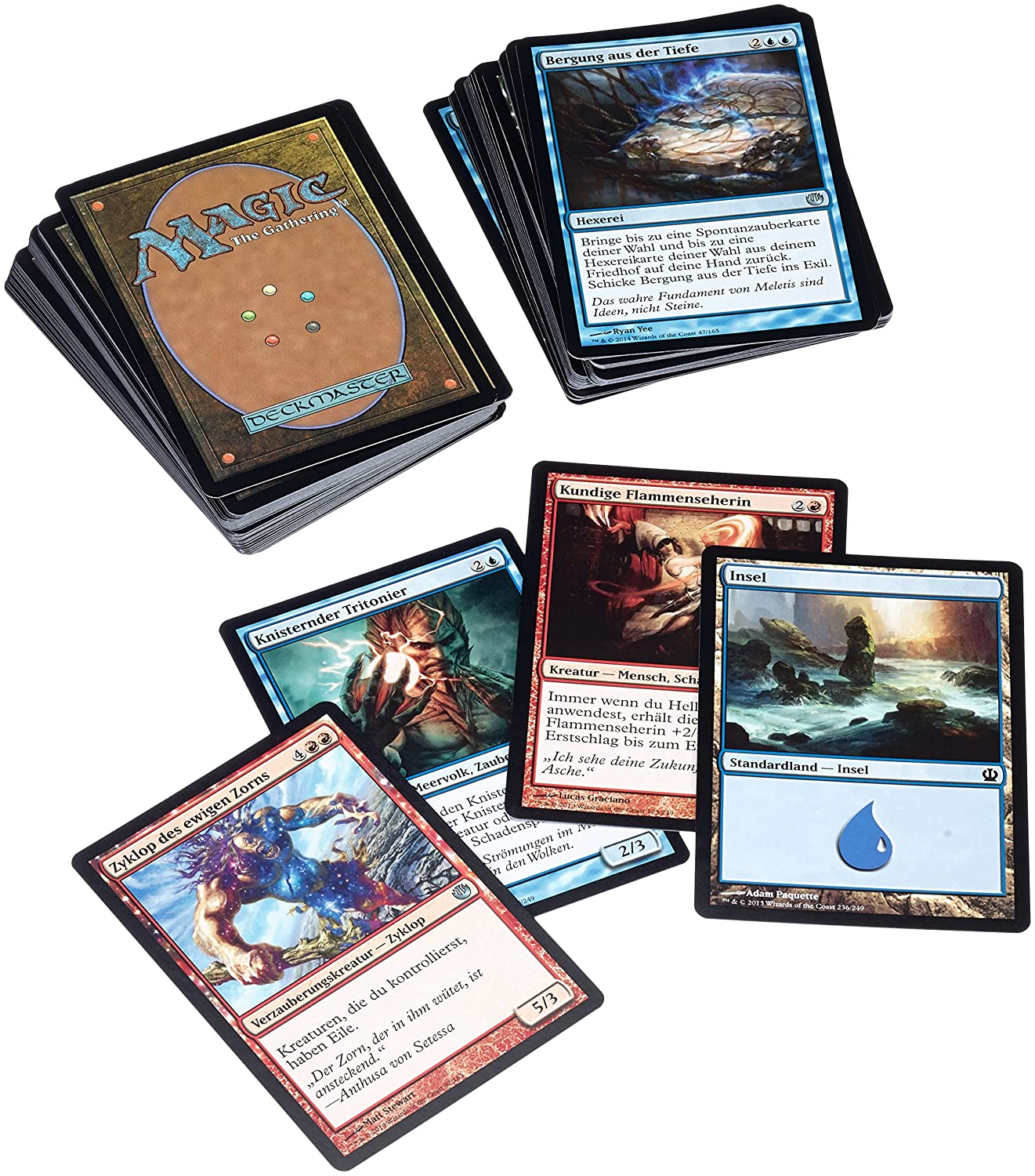 Wizard of the Coast - Set de inicio de cartas Magic: The ...