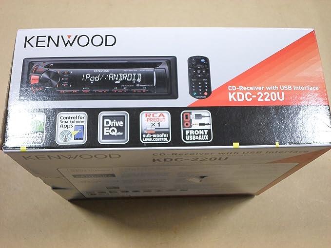 Amazon.com: Kenwood KDC-220U Car Cd/mp3 Player - 88 W Rms ... on car amplifier wiring diagram, pioneer premier wiring diagram, car stereo wiring diagram, pioneer amp wiring diagram, marine stereo wiring diagram, kenwood kdc plug diagram, head unit wiring diagram, cd player wiring diagram,