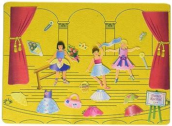 Felttales Lets Go To The Ballet Juego Para Vestir Muñecas