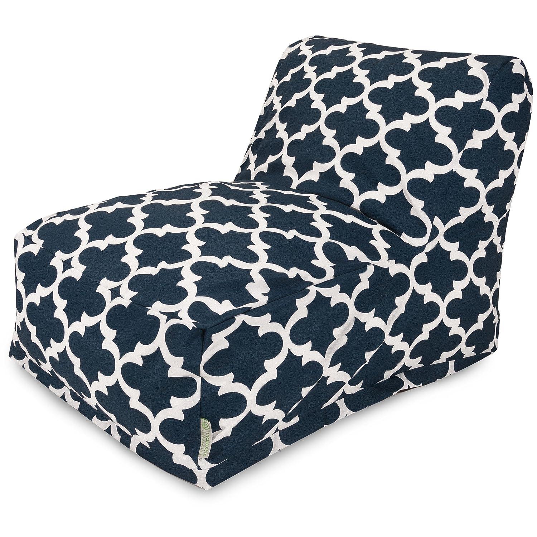 amazon com majestic home goods trellis bean bag chair lounger