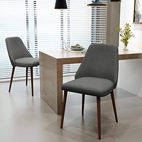 Christopher Knight Home Marlee Mid-Century Fabric Dining Chairs