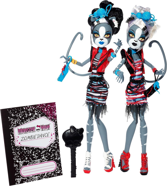 Monster High - Muñeca Zombi-Baile Mewlody (Mattel BJR16): Amazon.es: Juguetes y juegos