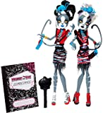 Monster High Zombie Shake Meowlody and Purrsephone Doll (2-Pack)