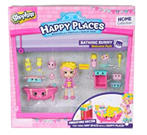 Happy Places Shopkins Welcome Pack Bathing Bunny
