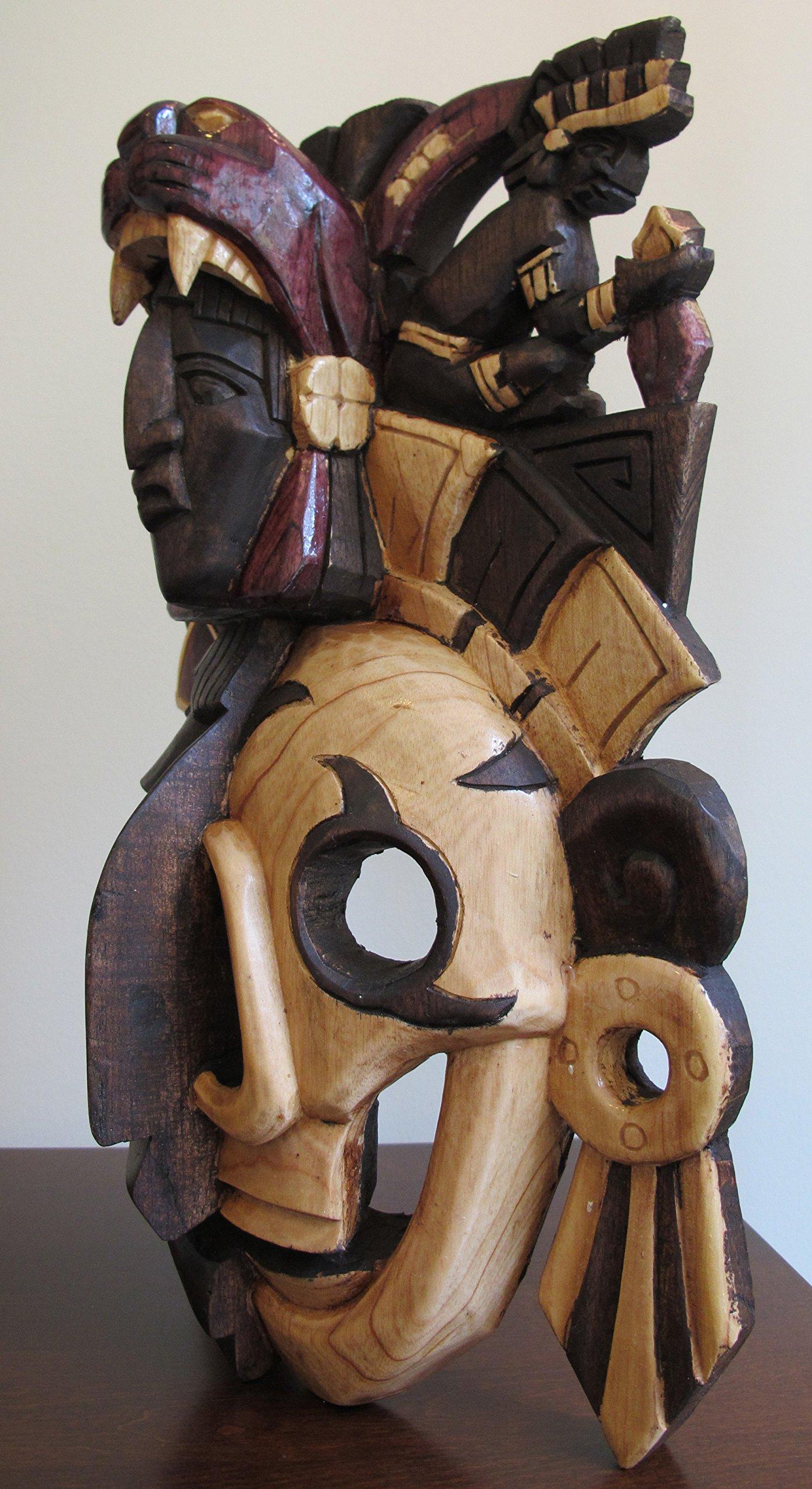 Mayan Mask - Half Skull *Premium Craft* by Sofia's Findings
