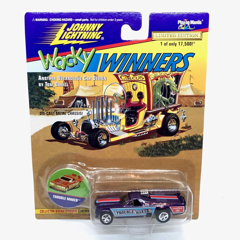 bin167 1996 Johnny Lightning Wacky Winners Trouble Maker Series 2