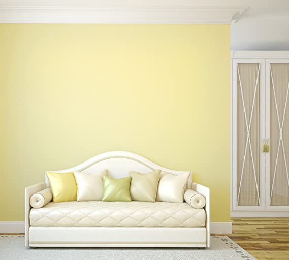 TemPaint: Removable Peel-and-Stick Paint (Buttercream Yellow)
