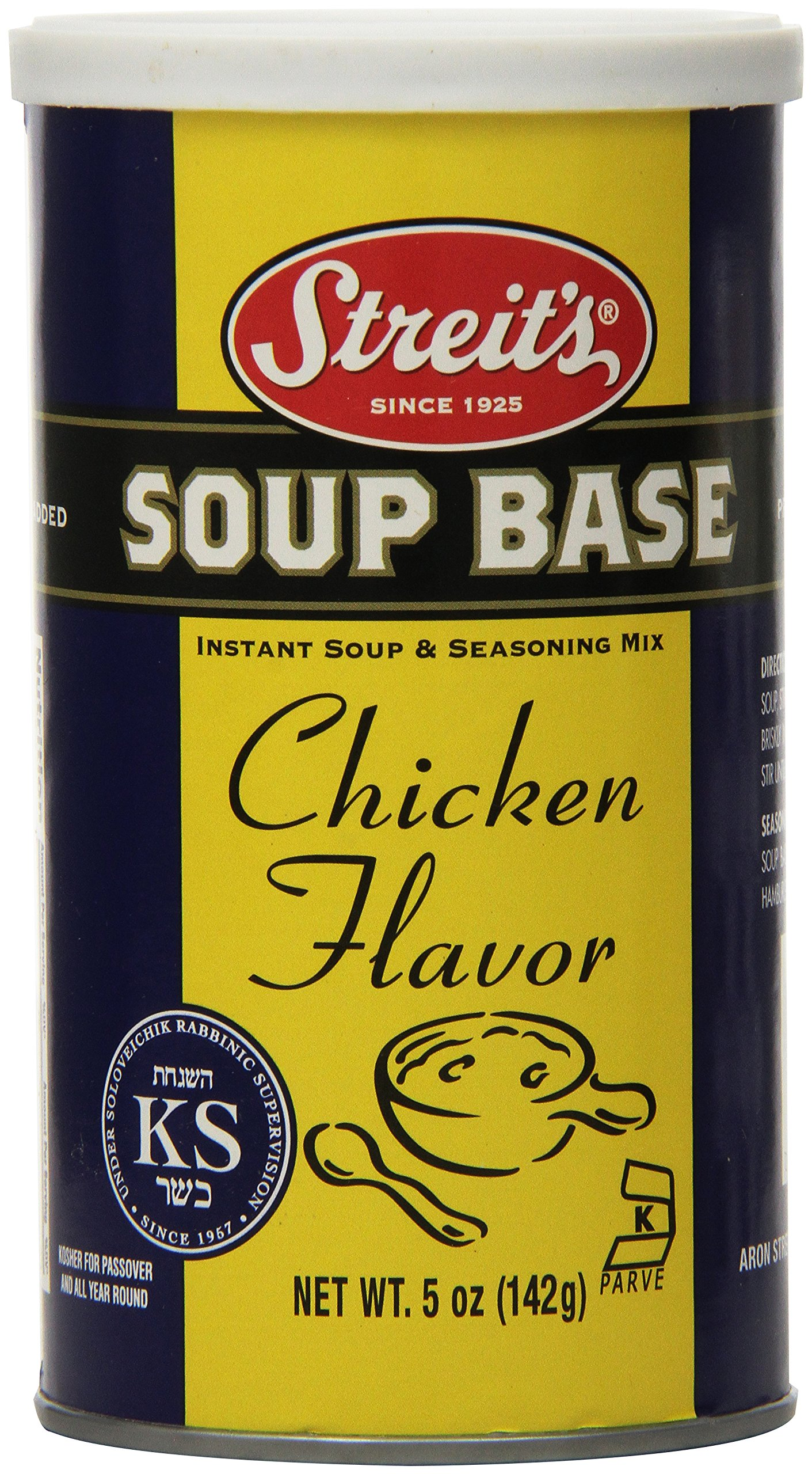 Streit's Soup Base, Chicken, 5-Ounce Units (Pack of 6)
