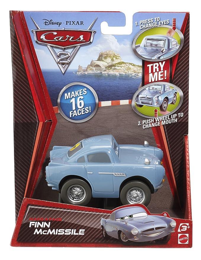 Amazon.com: Cars 2 Makin 'caras Finn McMissile Vehículo ...