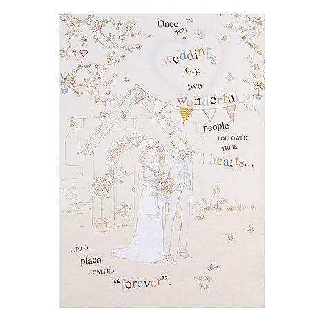 Hallmark Biglietto Di Auguri Per Matrimonio Con Scritta Love In