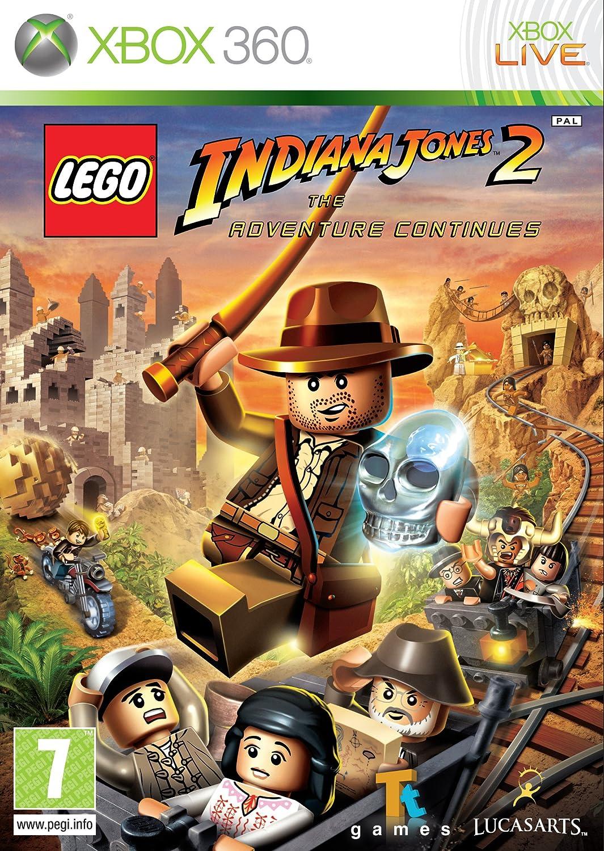 LEGO Indiana Jones 2: The Adventure Continues (Xbox 360): Amazon.co on