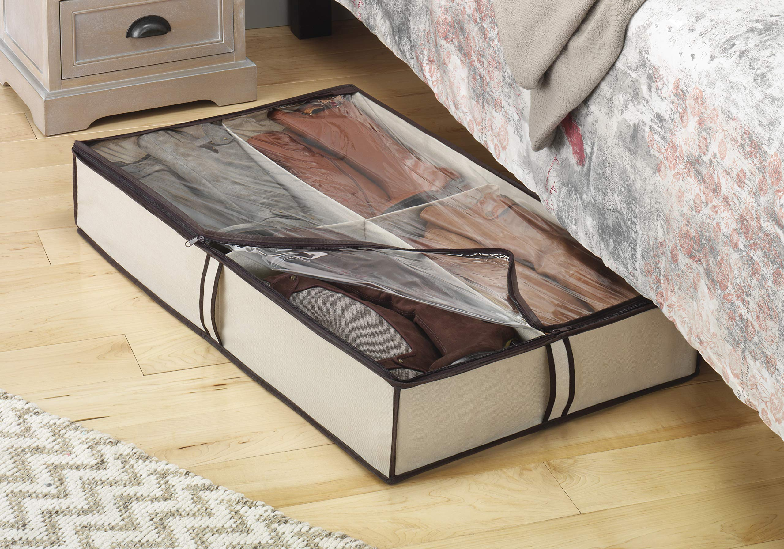 Whitmor 4 Section Underbed Boot Bag by Whitmor (Image #2)