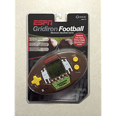 ESPN Handheld Football Game: Toys & Games
