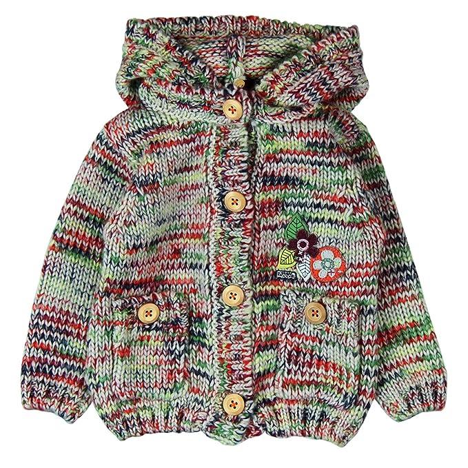boboli, Abrigo Tricotosa - Abrigo Tricotosa para bebe - niñas, color 2440, talla 2: Amazon.es: Ropa y accesorios