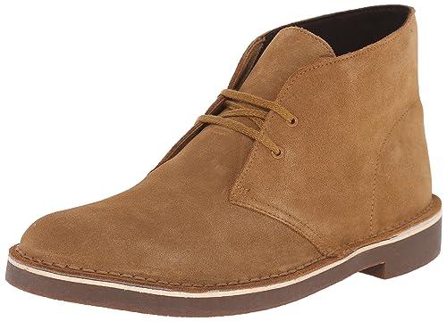 17355949264 Clarks Men's Bushacre 2 Desert Boots Wheat Suede 9.5 D(M) US: Buy ...