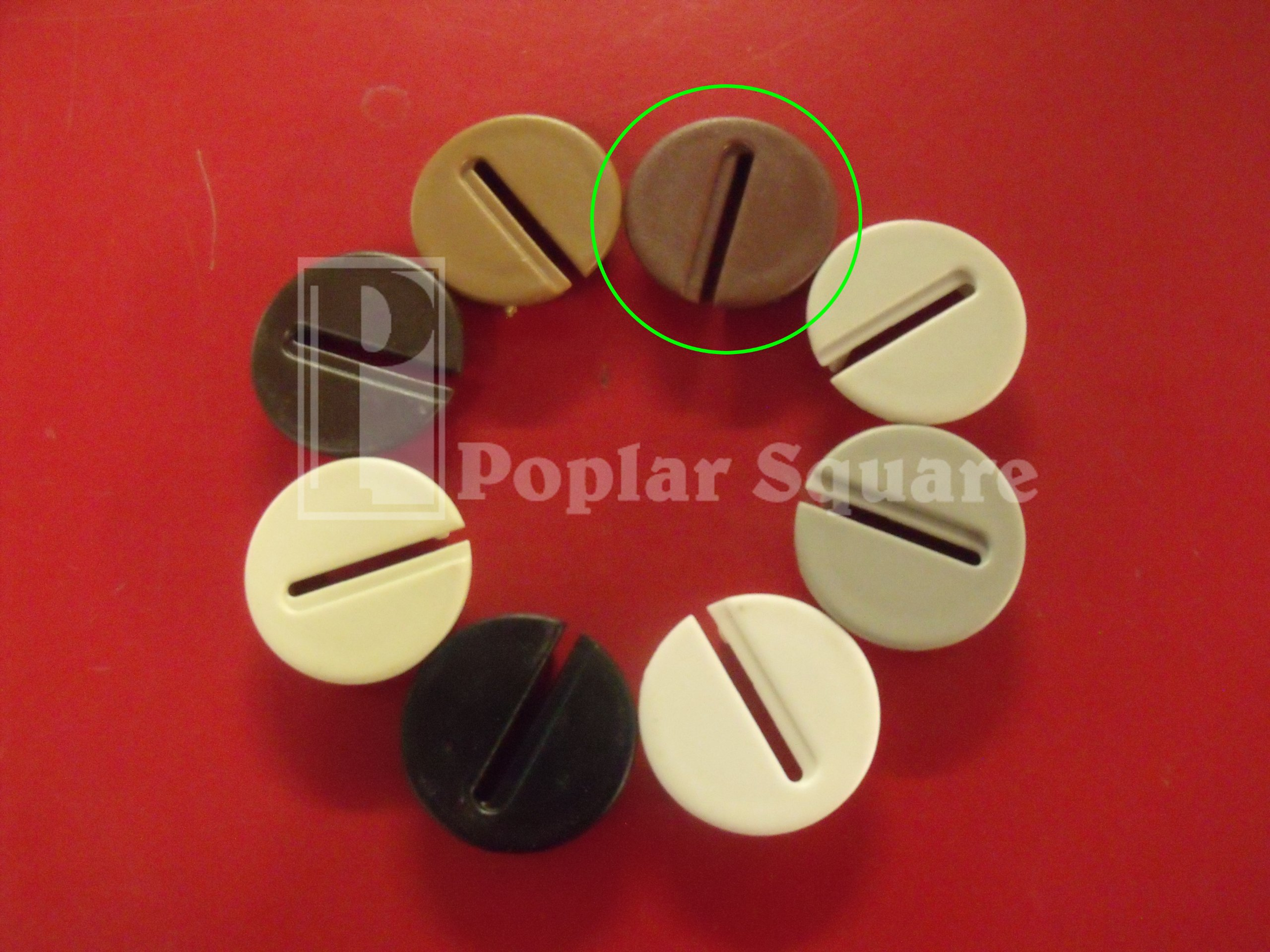 1 Cocoa Brown Wire Gripper Grommet #1051CCBR by Bmi (Image #4)