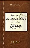 1894 (English Edition)