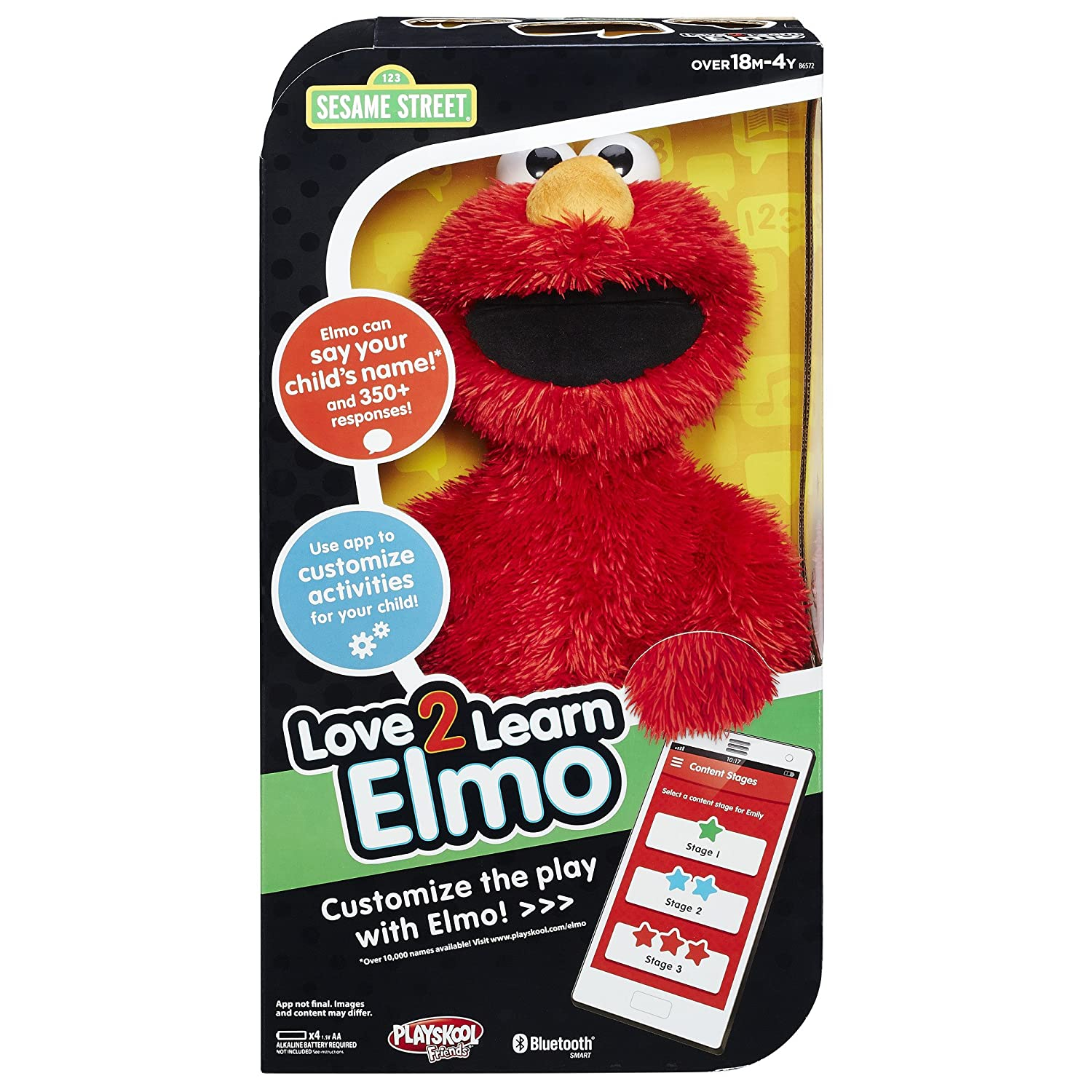 Elmo Love 2 Learn Doll