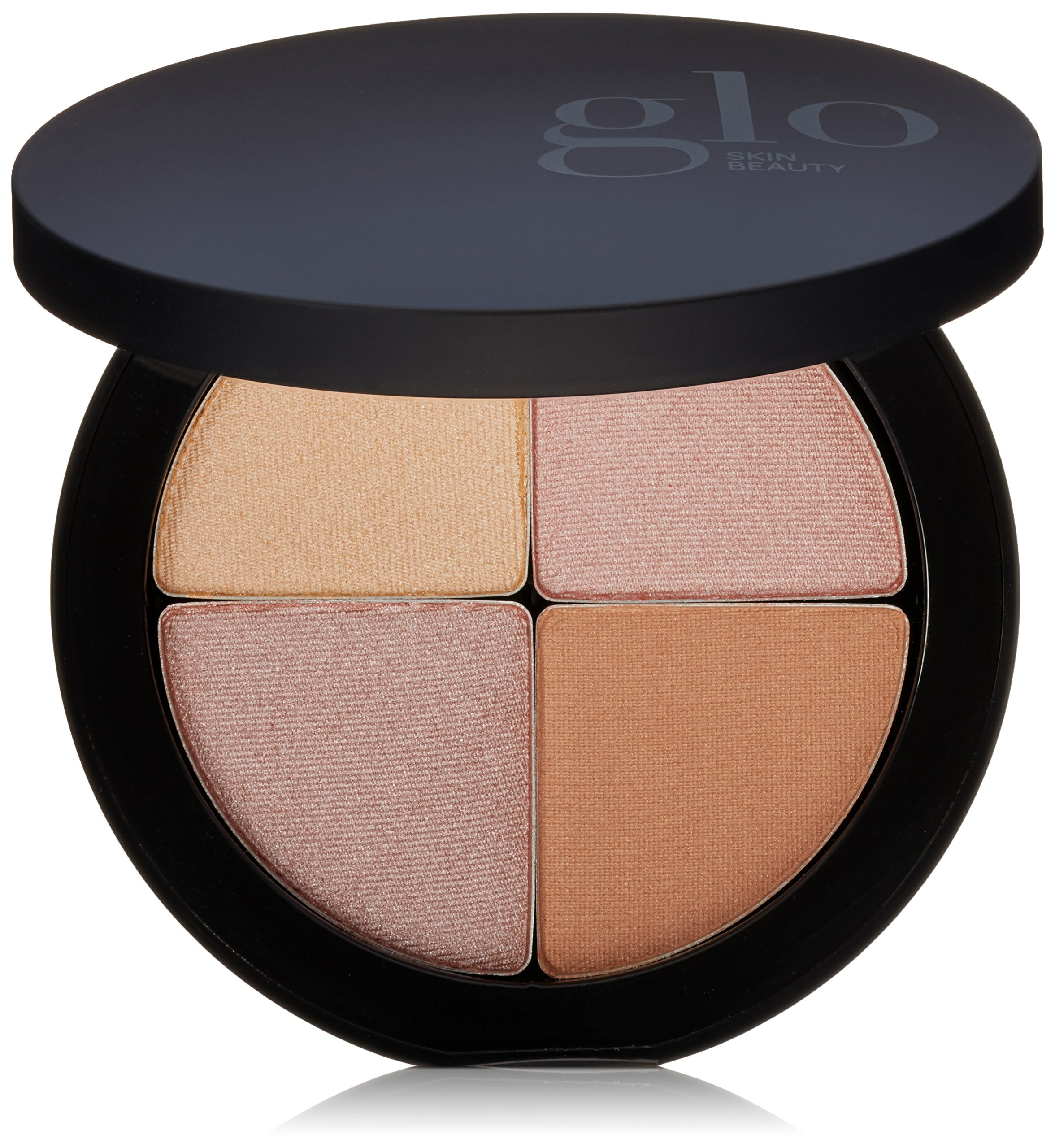 Glo Skin Beauty Shimmer Brick in Luster   Face Highlighter Palette Set in Bronze   4 Colors, 2 Shade Options