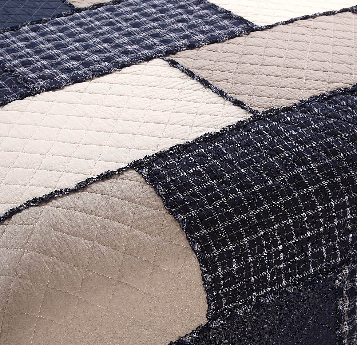Daloyi Patchwork Sham Checker Board Full//Queen