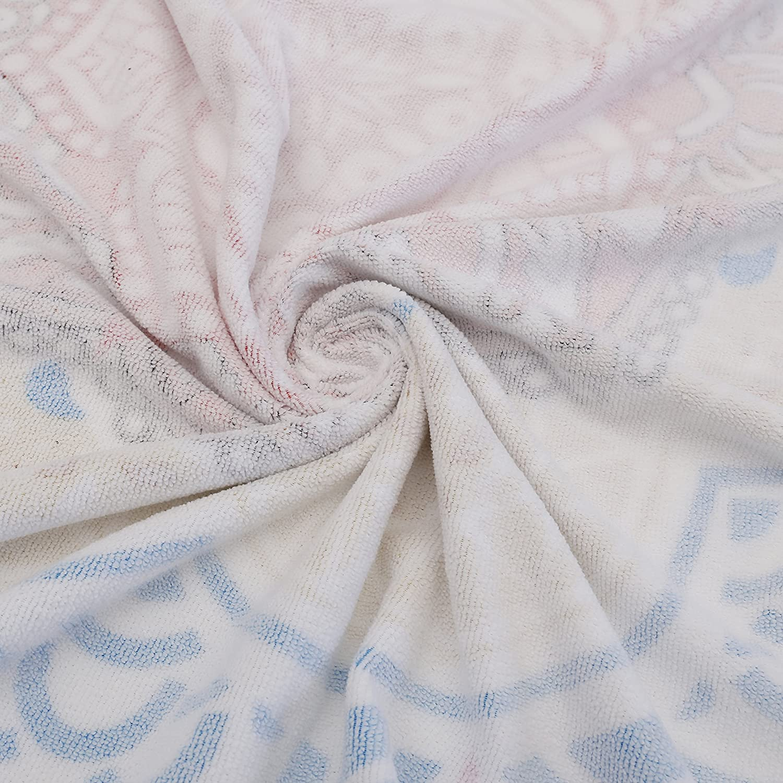 24 Options Thick Round Beach Towel Blanket - Fruit Pineapple Large Circle Circular Mat Genovega