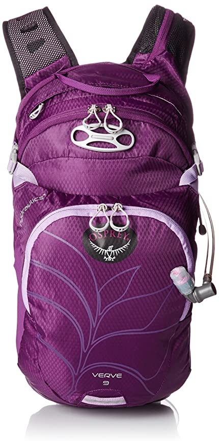 Osprey Womens Verve 9 Hydration Pack, Passion Purple, One Size