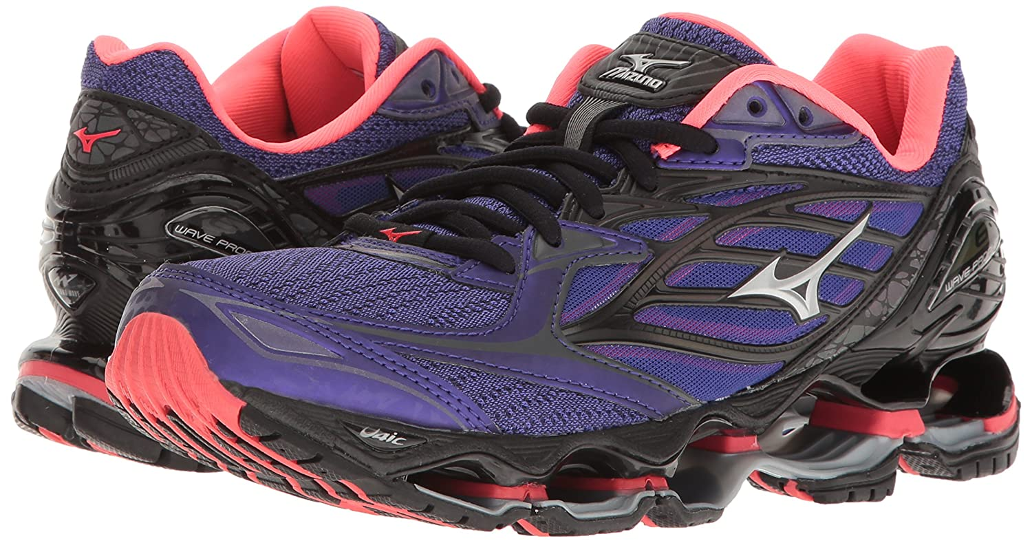 Mizuno Women's Wave B01H4X8DJ0 Prophecy 6 Running Shoe B01H4X8DJ0 Wave 7 B(M) US|Purple-pink 43b24d