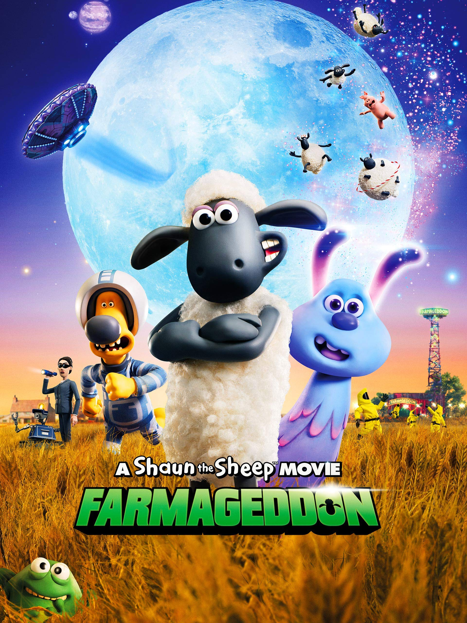 A Shaun The Sheep Movie: Farmageddon on Amazon Prime Video UK