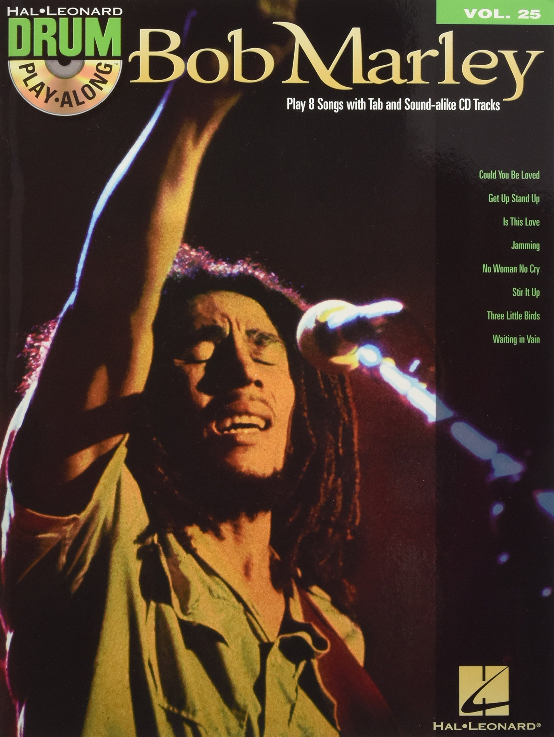Bob Marley - Drum Play-Along Volume 25 (Book/Cd) (Hal Leonard Drum Play-along)