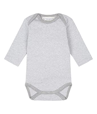 86a8636d249f Unisex Baby Essentials Long Sleeve Body, Organic Cotton (3-6 months, Pinny