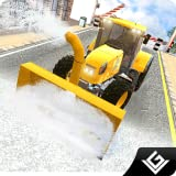 Winter Snow Plow Simulator Truck Driver 3D: Heavy Snow Excavator Crane Real Truck Rescue Adventure Survival Mission Games Free For Kids 2018
