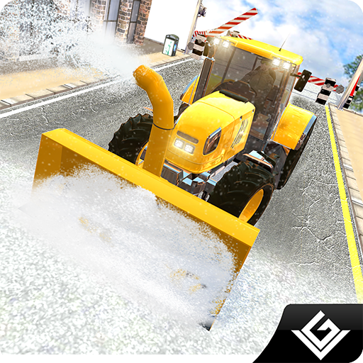 Winter Snow Plow Simulator Truck Driver 3D: Heavy Snow Excavator Crane Real Truck Rescue Adventure Survival Mission Games Free  For Kids 2018 ()